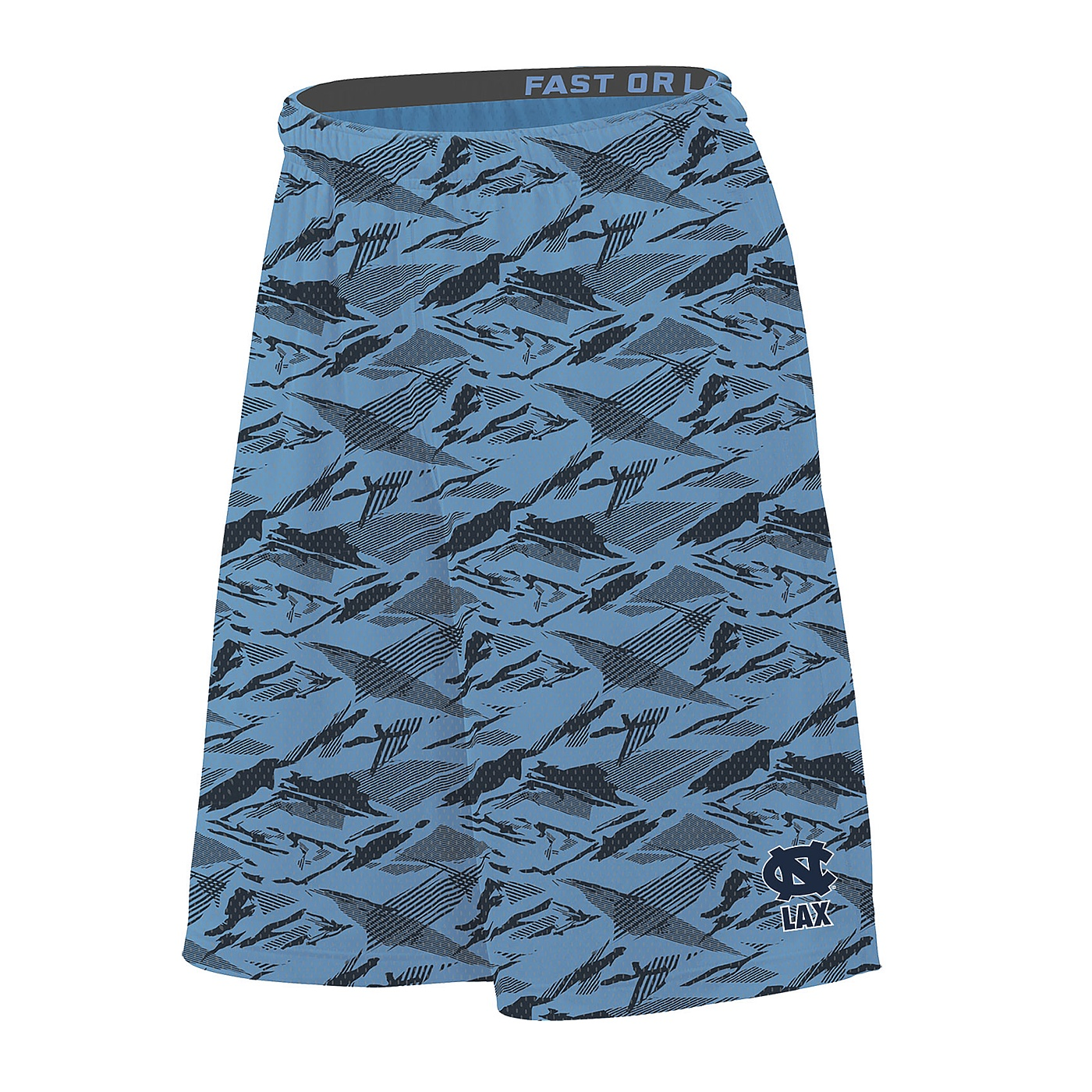 Johnny T shirt North Carolina Tar Heels Nike Fast or Last Lacrosse Mesh Shorts (CBAnthracite Grey) by Nike