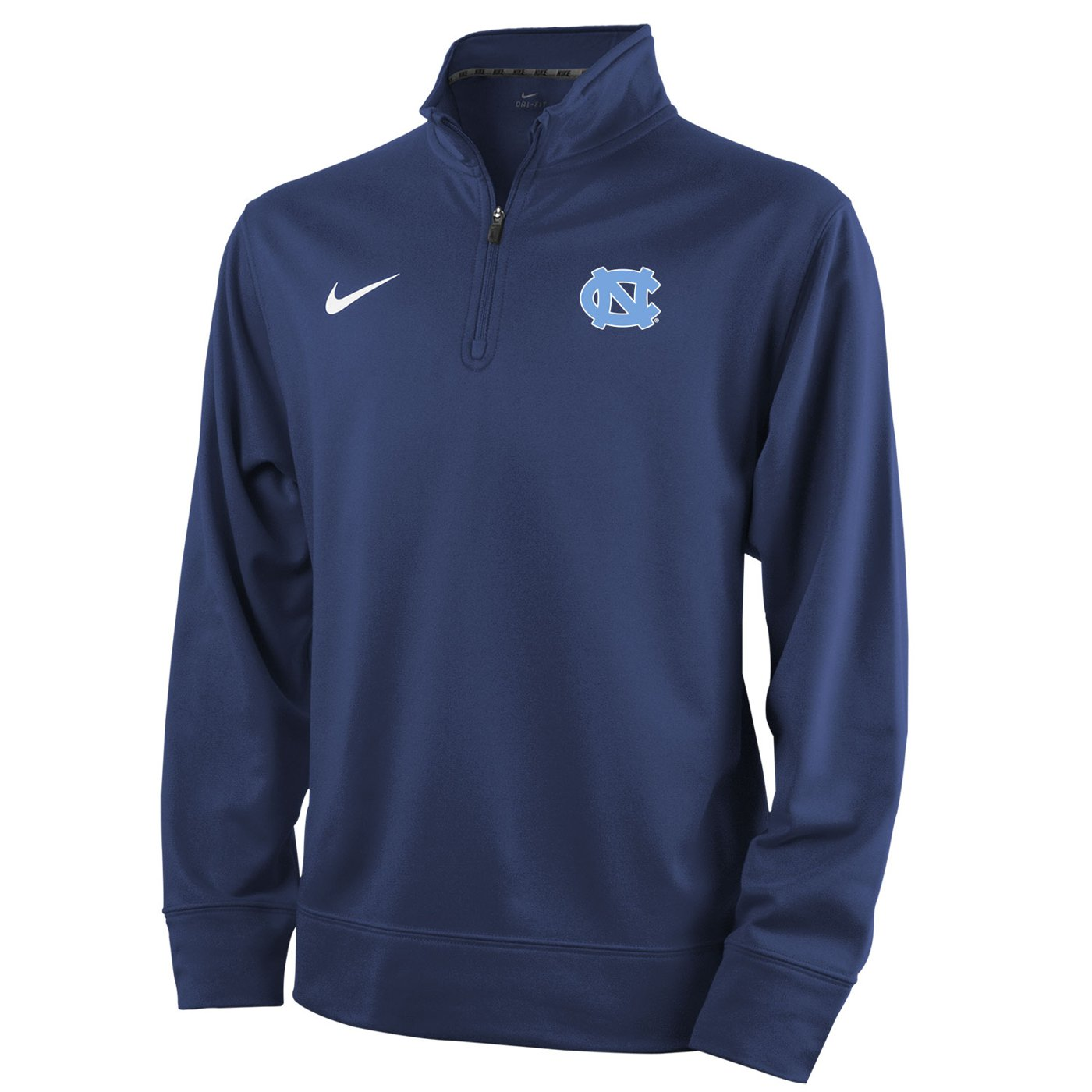 nike 1 4 zip pullover. johnny t-shirt - north carolina tar heels youth dri-fit 1/4-zip pullover (navy) by nike 1 4 zip